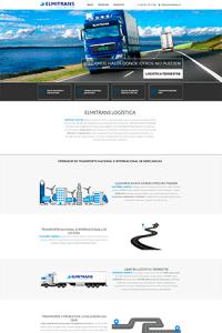 Diseño de Página Web Logística en Valencia